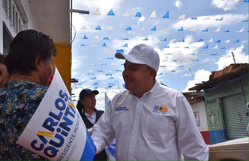 """""""Durante el periodo proselitista, la candidatura estuvo respaldada por las tres dirigencias, así se trabajará con pluralidad y transparencia"""", destacó Carlos Quintana"""