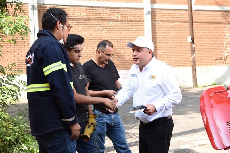 Carlos Quintana llama a la unidad y a superar la jornada electoral, así como a aceptar los resultados que favorecerán a los candidatos del Frente