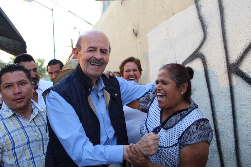 Vallejo Figueroa pudo conocer que los morelianos recuerdan sus obras y le agradecen su pasión por servir
