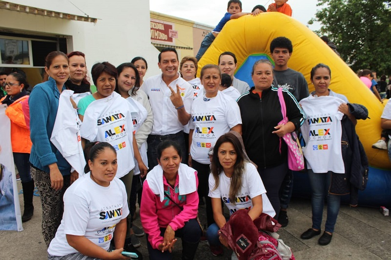 Jonathan Sanata demostró su compromiso por preservar el medio ambiente, para el que ha contribuido con la plantación de más de 80 mil árboles por todo Michoacán