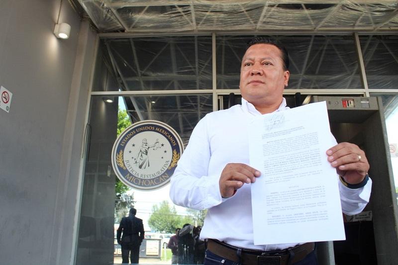 La denuncia se presenta luego de que se diera a conocer que tan solo cinco candidatos de Morena en Michoacán tienen cerca de 100 propiedades, entre casas, departamentos, terrenos, solares, bodegas, locales comerciales y residencias ubicadas en zonas exclusivas