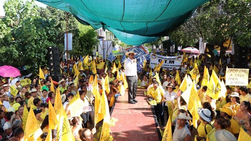 Convoca Elías Ibarra a votar este domingo por la coalición y el PRD