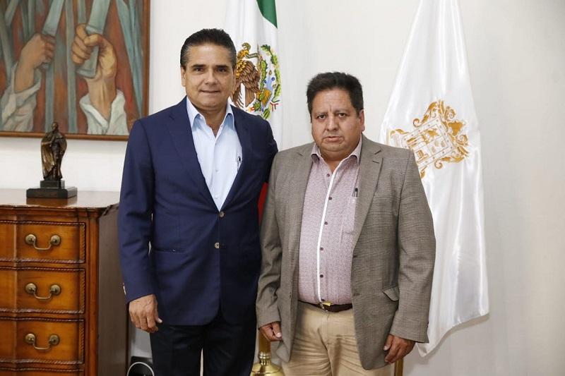 Aureoles Conejo mencionó que el trabajo del Gobierno del Estado se emprende sin distingos partidistas, lo cual ha permitido avanzar en conjunto con los ayuntamientos en abatir diversos rezagos