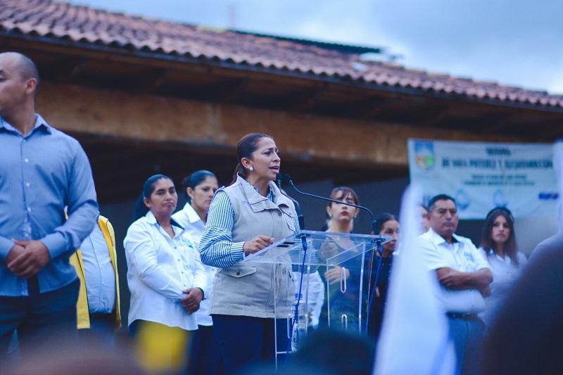 Alma Mireya González acudió a los cierres de campaña de Ciudad Hidalgo, Queréndaro y Taretan, donde refrendó su compromiso de ser una aliada desde el Senado con el estado