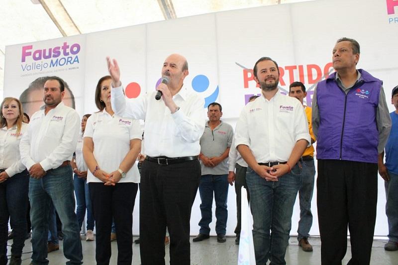 Servir a Morelia el compromiso del abanderado del PES a la alcaldía capitalina
