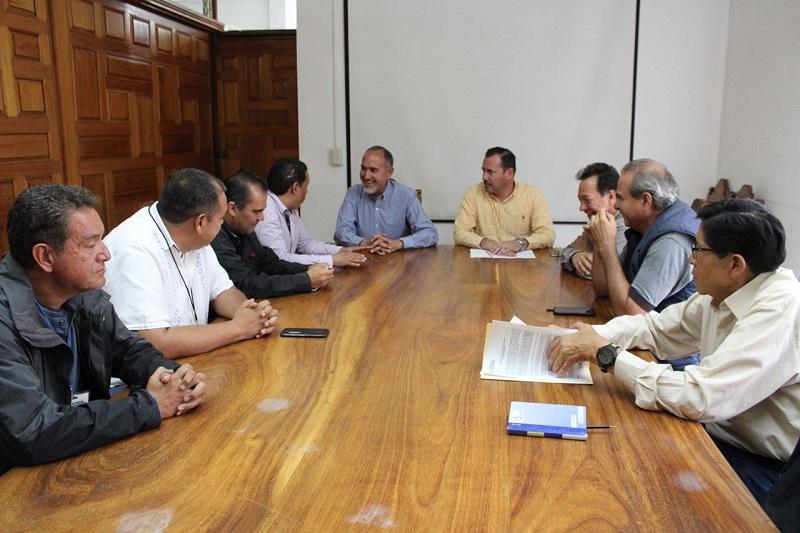 El encuentro, tuvo como objetivo socializar los avances logrados a través de la coordinación entre el Ejecutivo michoacano y las constructoras que están afiliadas al CMIC