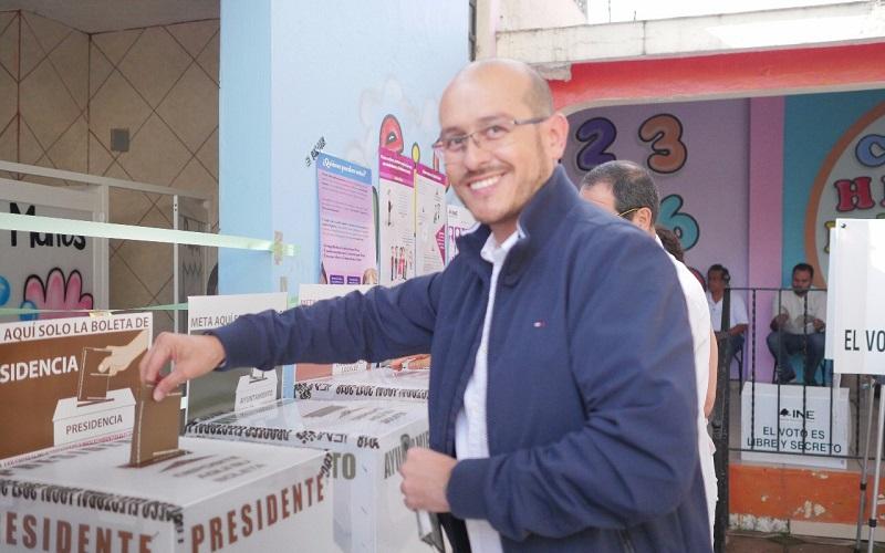 """José Manuel Hinojosa, mencionó que el PAN estará atento de cómo transcurra la jornada, """"la cual confiamos que se desarrolle sin incidentes y con una alta asistencia de michoacanos en las urnas"""""""