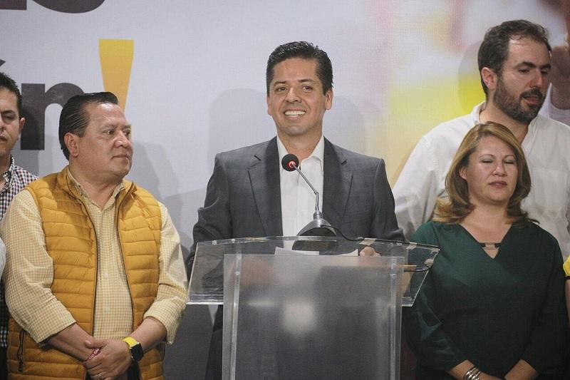 Antonio García Conejo afirmó que es la hora de ver hacia adelante, por lo que hizo un llamado a la unidad de las y los michoacanos para seguir impulsando el desarrollo de nuestro estado