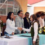 Pedro Chávez Sánchez, presidente del Concejo Mayor, agradeció la pronta respuesta del mandatario estatal Aureoles Conejo para la intervención del plantel