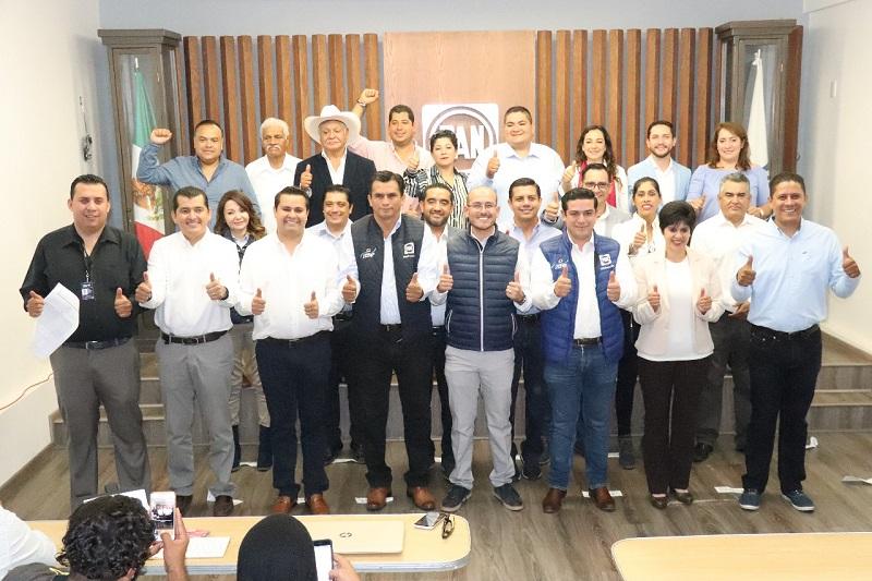 Las diputaciones ganadas corresponden al distrito 07 Zacapu, 01 La Piedad, 04 Jiquilpan, 09 Los Reyes y 19 Tacámbaro