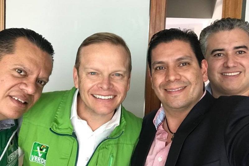 """Ernesto Núñez informó que de los cuatro ayuntamientos del Partido Verde que gobiernan en Michoacán se logró duplicar la cifra en la elección actual, mientras que los sufragios obtenidos en la reciente jornada en diputaciones federales y locales """"fueron favorables e importantes"""""""