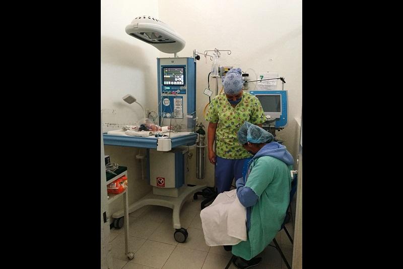 Cabe señalar que durante el periodo del 2016 al 2017, primer año que el IMSS participó en el programa, se logró adquirir equipo médico que permitió la atención médica de 120 recién nacidos