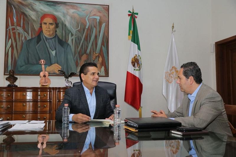 El mandatario michoacano refirió que la publicación de los lineamientos para el otorgamiento de permisos en la Zona Económica Especial, es un avance que dará certeza jurídica para la designación del administrador integral