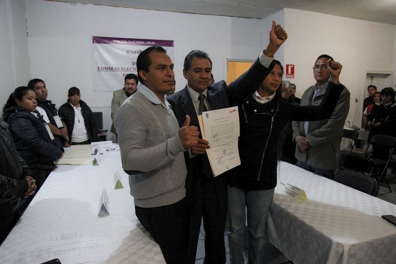 Equihua Equihua, ratificó su compromiso de cumplir las propuestas de campaña
