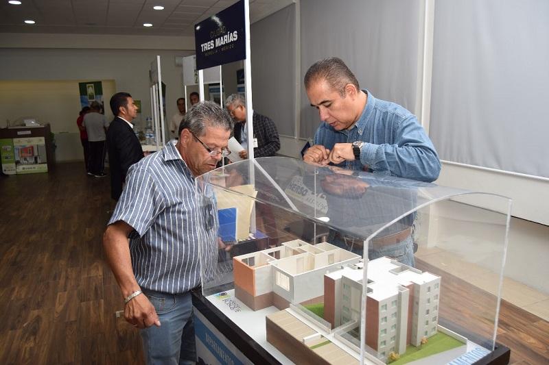 Inauguran IVEM y Canadevi Feria de la Vivienda dirigida a trabajadores del STASPE