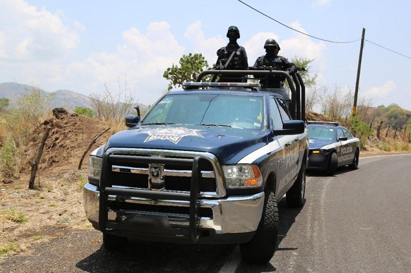 Se activaron las BOM y FRIM en otros puntos del territorio michoacano, a fin de salvaguardar a la población y preservar el orden público