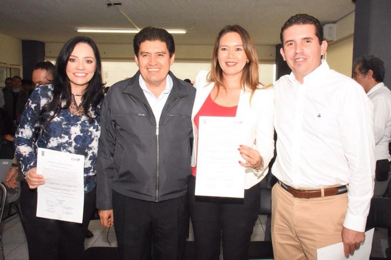 Silva Tejeda agradeció a cada una de las secretarias del CDE por su trabajo realizado en la pasada jornada electoral y los invito a seguir fortaleciendo el instituto político desde el interior y trabajar en pro del partido más grande de México