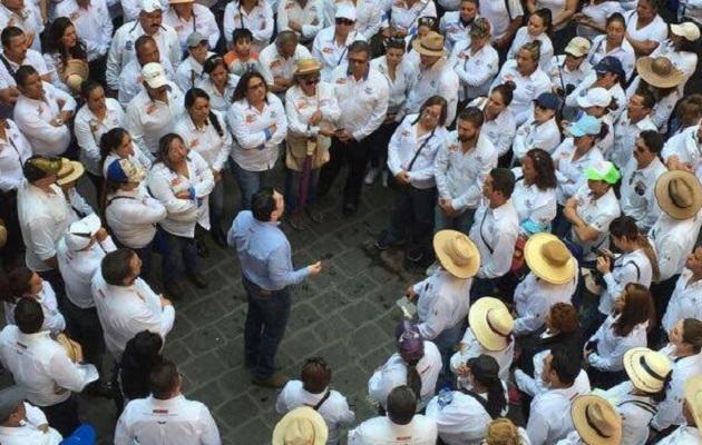 Ernesto Santamaría contestó a las acusaciones de Jorge Molina que sus acusaciones son sólo una revancha por el fracaso electoral de Daniela de los Santos