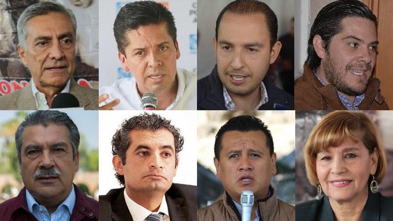 Estos son los perfiles que por ahora visualizo como posicionados para saltar en 2021 a buscar las candidaturas de sus respectivos partidos a la gubernatura de Michoacán, pero seguramente en el camino saldrán más