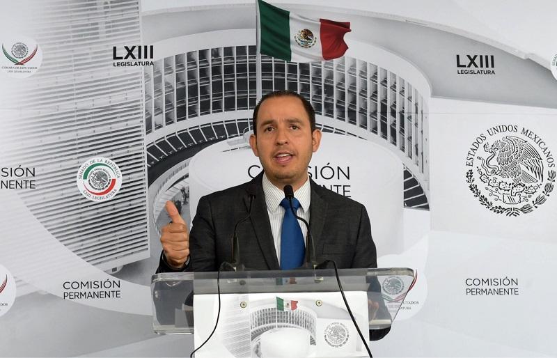 Los delegados anunciados por López Obrador se vislumbran como una fuente de conflicto, porque generarán tensiones políticas innecesarias: Marko Cortés