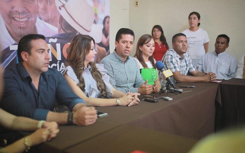 Antonio García Conejo argumentó que en su responsabilidad, además de debatir y dar balance en las futuras leyes que se harán en la Cámara de Senadores, será quien vincule a los otros dos niveles de gobierno con la Federación