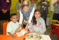 """La coordinadora del Servicio de Pediatría del HGR No. 1, María Itzel Olmedo Calderón, comentó que """"Sigamos aprendiendo en el Hospital"""", mantiene el derecho a la educación, aún en etapas de enfermedad prolongada, y permite un proceso de aprendizaje efectivo"""