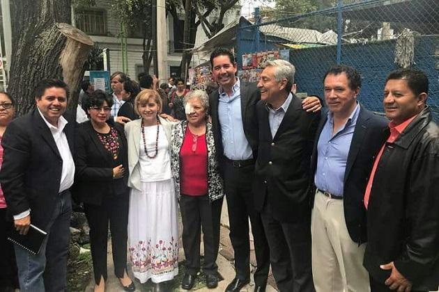 """Pérez Negrón Ruiz se reunió con actores importantes de las dirigencias nacionales de la Coalición """"Juntos Haremos Historia"""", para delinear la plataforma y estrategias con las que trabajará durante la LXIV Legislatura a partir del próximo 1 de septiembre en el Congreso de la Unión"""