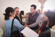 Antonio García Conejo recalcó la importancia de formar su agenda legislativa dictada de la mano de la ciudadanía