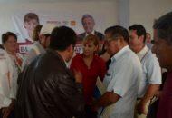 Blanca Piña hizo un llamado a la estructura política y a simpatizantes a reforzar el trabajo de representación en todo el estado, con el fin de prepararse para el próximo cambio de estructura del Comité Estatal de Morena