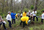 Los integrantes del consejo del Club Campestre de Morelia, se comprometieron a estar muy al pendiente de que se concluyan las labores de reforestación