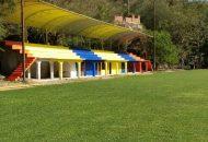Se rehabilitó la cancha de futbol de la unidad deportiva de la demarcación, la cual cuenta con sistema de riego automatizado