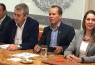 Michoacán cuenta con 180 mil hectáreas de huertas certificadas para la exportación, garantizando la sanidad e inocuidad de los productos del agro estatal, detalla el secretario Rubén Medina Niño