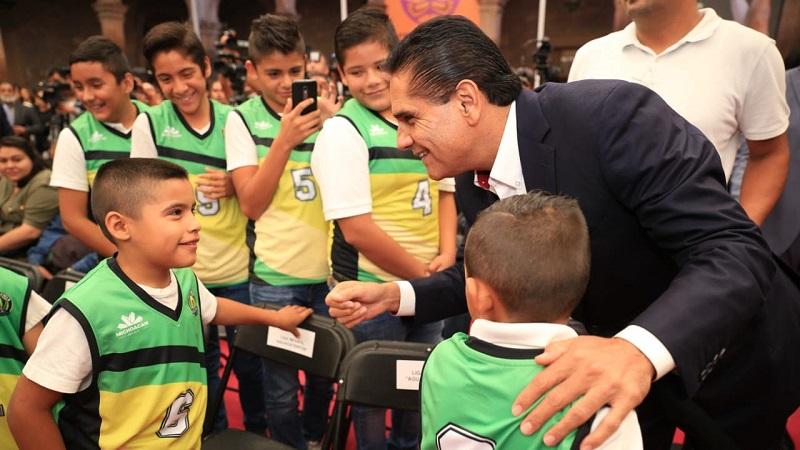 Prepararnos en un ambiente de tranquilidad y armonía como la que nos brinda Michoacán, es muy importante, señala el capitán de los 12 Guerreros, Gustavo Ayón