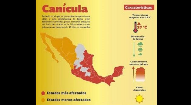 PC Estatal invita a la ciudadanía a evitar la exposición directa a la luz solar, a fin de prevenir lesiones en la piel, insolaciones, golpes de calor y/o deshidratación