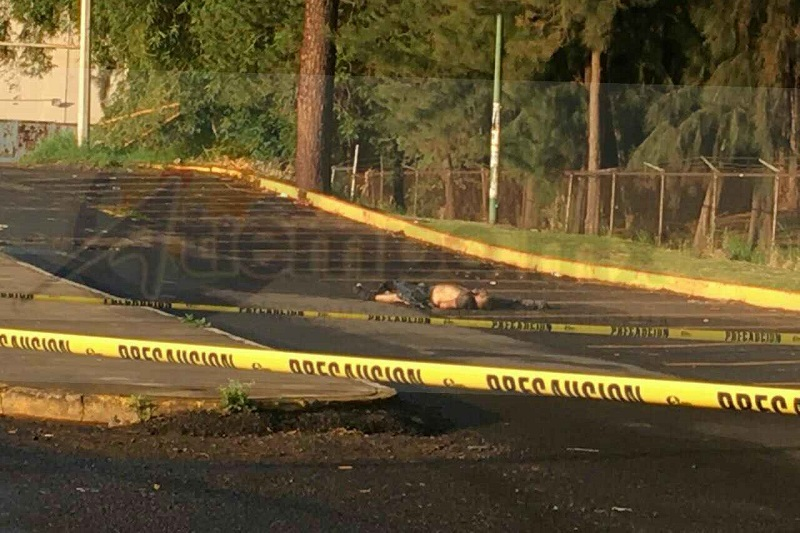 Al lugar se desplazaron elementos de la Policía Michoacán, quienes acordonaron el área en espera de elementos de la Fiscalía para realizar el levantamiento del cuerpo e iniciar las investigaciones correspondientes