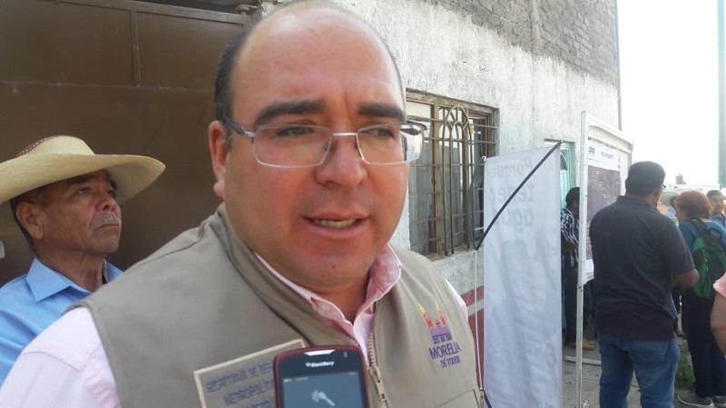 Sosa Tapia reconoció que serán alrededor de 20 obras las que quedarán pendientes entre las que se encuentran las 12 vialidades por reencarpetar debido a la falta de los 40 mdp que no se han depositado