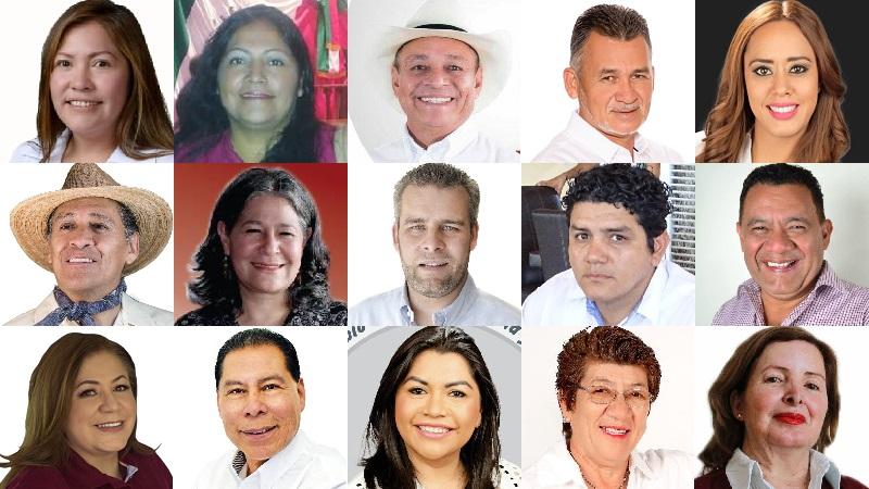 """Estos son los próximos diputados emanados de la coalición """"Juntos Haremos Historia"""" y el proyecto que encabeza López Obrador, quienes tendrán mucho peso, pero también una enorme responsabilidad hacia los michoacanos. Más nos vale que estén a la altura."""