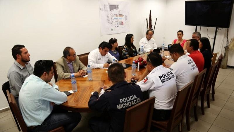 La SSP trabaja un esquema operativo en coordinación con la Policía Federal, Protección Civil y Cruz Roja