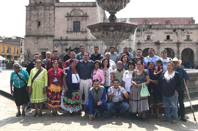 El premio a la Trayectoria Artesanal es para J. Audón Punzo Ángel, de la localidad de Santa Clara del Cobre