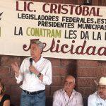 Arias Solís sostuvo en días pasados un encuentro en la ciudad de Uruapan con representantes del sector transportista y productores de Aguacate