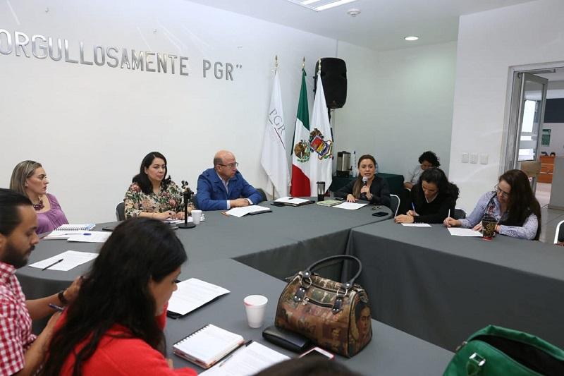 Lo anterior, dentro de la trigésima octava reunión del Comité Interinstitucional en Materia de Trata de Personas en el Estado de Michoacán (COTRAPEM)