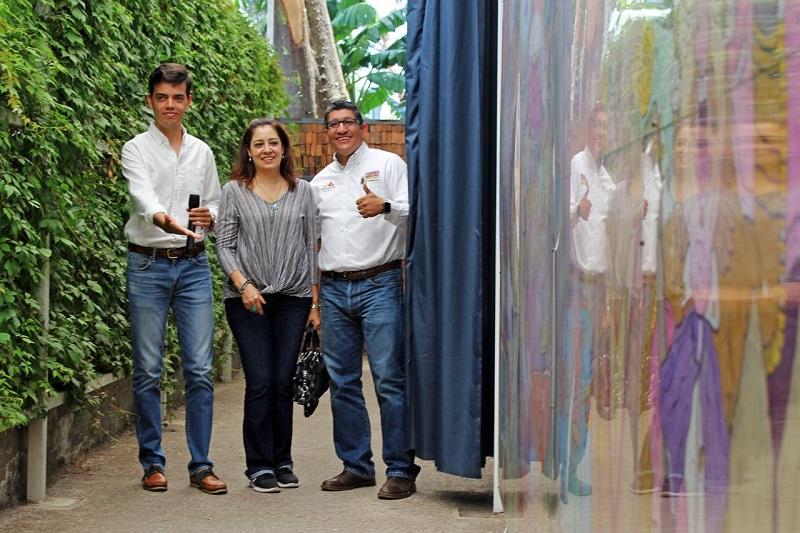 Rangel Díaz reafirmó el compromiso del Zoológico con la sociedad, al exponer piezas artísticas que influyan en la atracción de más visitantes a los museos con los que cuenta el estado de Michoacán