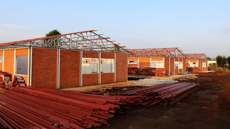 La obra se realiza en un superficie de 69 mil 500 metros cuadrados