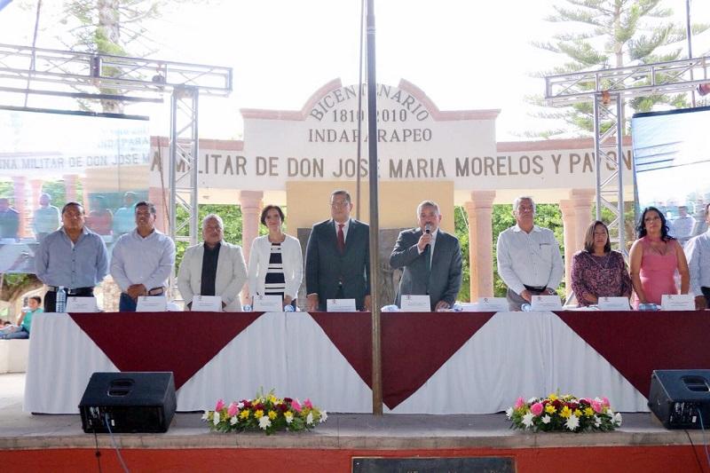 """""""El Gobierno del Estado seguirá impulsando y garantizando resultados con las nuevas autoridades, y eso es lo que se va a continuar haciendo"""", citó Barragán Vélez"""