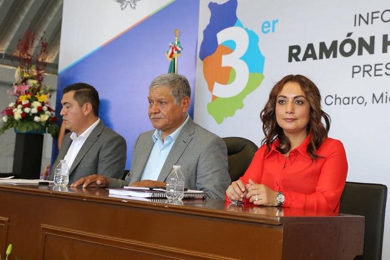 El Gobernador Constitucional Silvano Aureoles y su Gabinete, grandes aliados para el Gobierno de Charo; destaca el alcalde de Charo