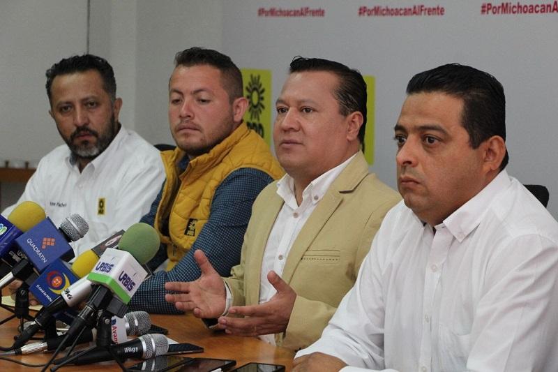 Al PRD no se le olvida su participación en el fraude de 1988, sentenció el dirigente estatal del sol azteca, Martín García Avilés