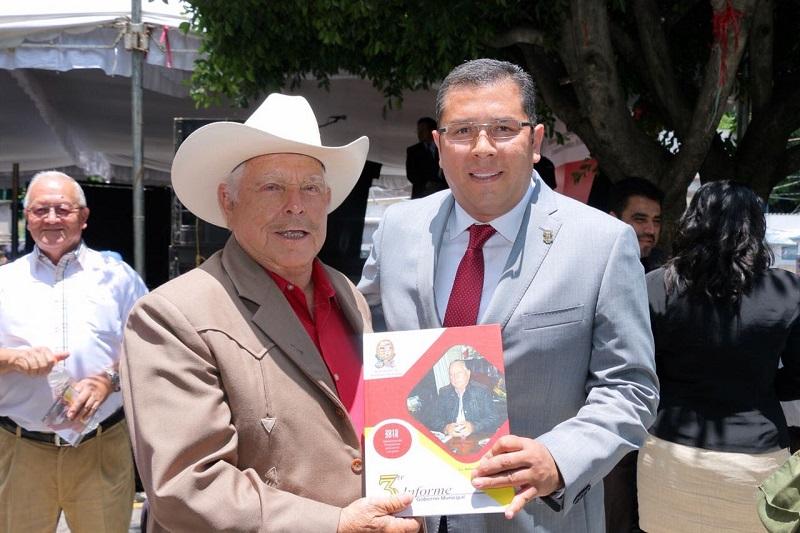 Barragán Vélez felicitó a la administración actual por realizar este ejercicio democrático y reconoció la labor que llevó a cabo en el periodo 2015-2018