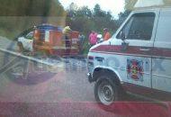 En un momento determinado el conductor se percató que la camioneta se había quedado sin frenos