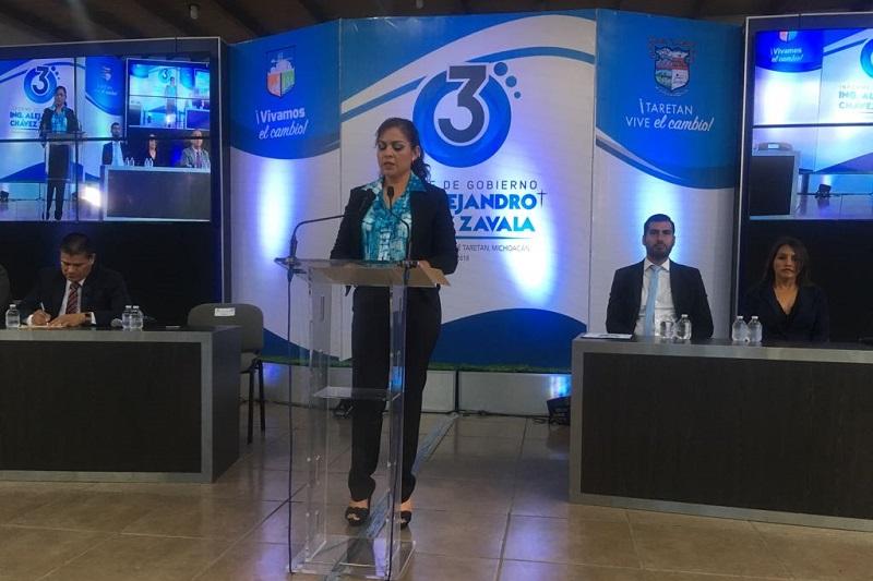 La encargada de Despacho, Arminda Villa mencionó que este avance en materia de obra pública es significativo, ya que el monto que se logró de inversión durante estos tres años es igual al ejecutado durante los últimos 35 años