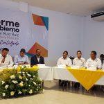 Reconoce el alcalde Salvador Ruiz Ruiz el invaluable apoyo del Gobernador Silvano Aureoles Conejo a su municipio, durante su tercer Informe de Gobierno
